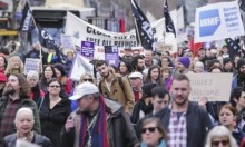 الآلاف يتظاهرون ضد سياسة احتجاز اللاجئين بأستراليا