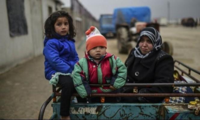 سورية: وُصول أول قافلة لمعارضين اضطروا إلى مغادرة القنيطرة