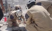 """إجلاء 800 ناشط في """"الخوذ البيضاء"""" إلى الأردن عبر الجولان المحتل"""