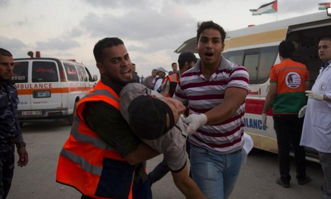 156 شهيدا بنيران الاحتلال منذ انطلاق مسيرات العودة