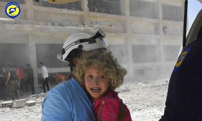 """الأردن: 422 من """"الخوذ البيضاء"""" دخلوا المملكة وليس 827"""