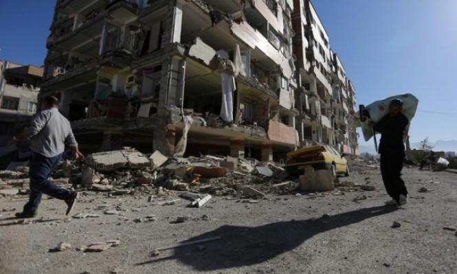 زلزال بقوة 5.7 درجة يضرب جنوب إيران