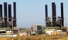 أزمة الوقود تعطل محطة الكهرباء بغزة