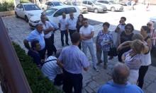 فنانون يزورون مواقع تاريخية وسياحية في الناصرة