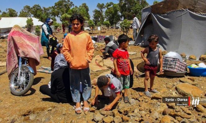 الدفعة الثانية من مهجري القنيطرة تصل إلى إدلب