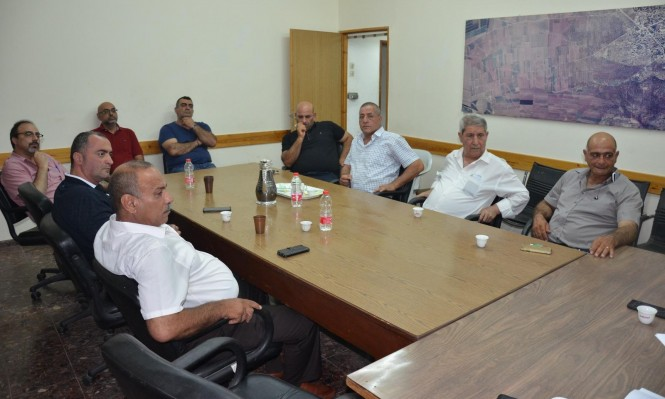 مجلس كفرياسيف يُعلن الإضراب جرّاء الاعتداء على الرئيس