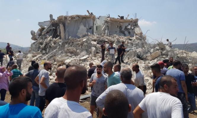 سخنين تتجند لإعادة بناء منزل عثمان