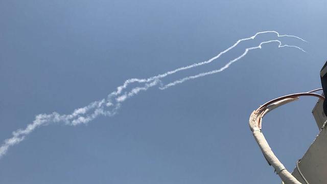 صاروخ باتريوت إسرائيلي يسقط طائرة سوخوي سورية