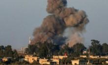 سورية: الطيران الحربي يكثف غاراته في الجنوب