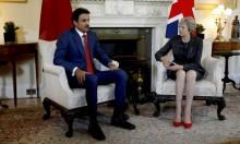 أمير قطر يلتقي ماي في العاصمة البريطانية