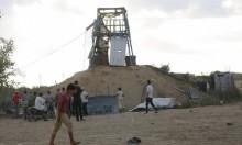 طائرة إسرائيلية تستهدف شرقي مخيم جباليا