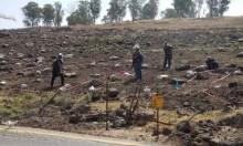 تفجير 350 لغما في الجولان المحتل اليوم