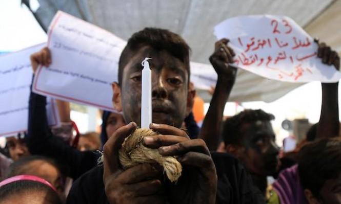 أطفالُ غزة يُطالبون بالكهرباء!
