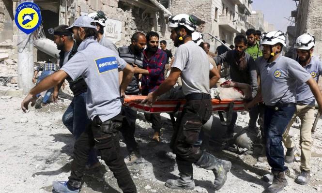 """""""الخوذ البيضاء"""": لم نتواصل مع إسرائيل للمرور عبر الجولان المحتل"""
