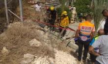 عارة: مصرع عامل انهار عليه جدار في ورشة بناء