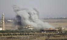 """الاحتلال يقصف في سورية بزعم الرد على """"داعش"""""""