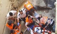 إصابة عامل في ورشة بناء قرب القدس