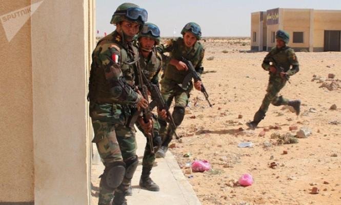 مقتل 13 مسلحا باشتباك مع الجيش المصري بسيناء