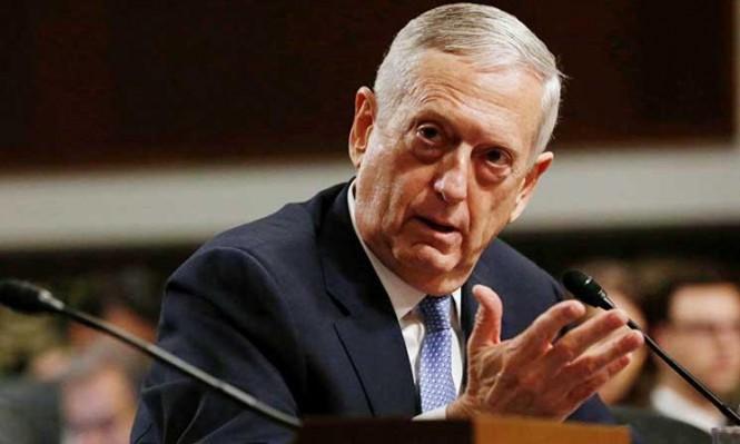 ماتيس: أميركا لن تتعاون مع الجيش الروسي بسورية