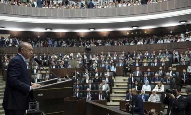 إردوغان: قانون القومية الإسرائيلي فاشي وروح هتلر تظهر مجددا