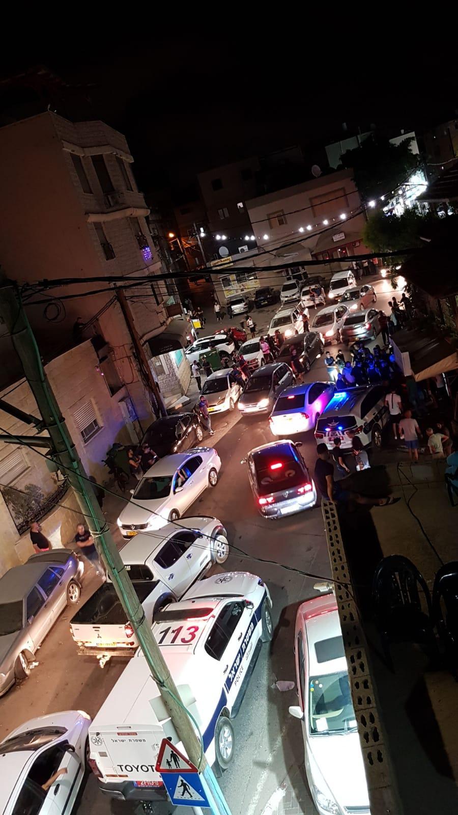 ليلة ساخنة في بلدات عربية
