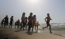 أطفال غزّة والبحر