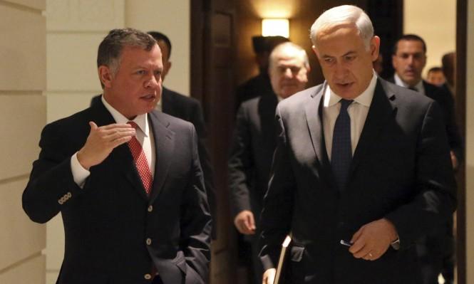"""نتنياهو يحاول التملص من مشروع """"قناة البحرين"""" مع الأردن"""