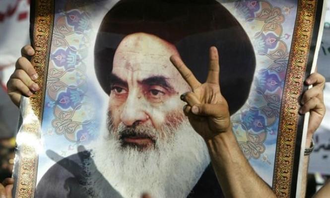 أعلى مرجع ديني في العراق يدعو للاستجابة لمطالب المتظاهرين