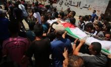 غزة تشيع الشهيدين أبو مصطفى والسطري