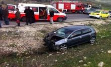 مصرع 5 أشخاص و198 إصابة بحوادث سير بالضفة