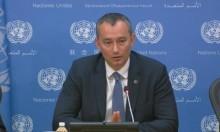 """ميلادينوف اقترح """"تهدئة"""" لـ5 سنوات بين المقاومة وإسرائيل"""