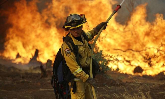 ستة قتلى وإجلاء 38 ألف شخص بحرائق كاليفورنيا