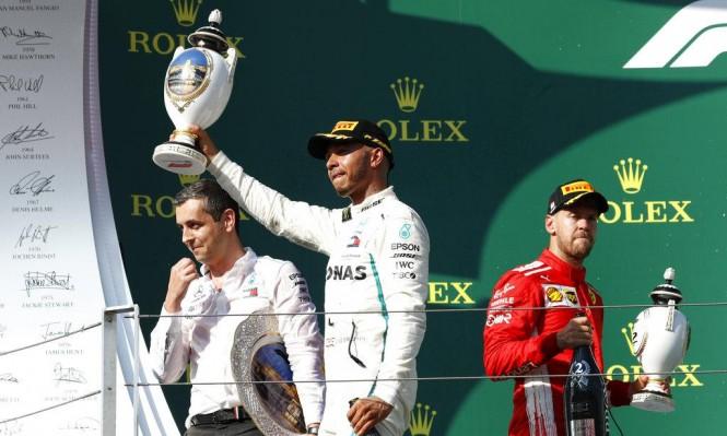 فورمولا 1: هاميلتون يحصد جائزة المجر الكبرى
