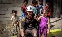 """""""الخوذ البيضاء"""" تمحو آثار الحرب في محافظة إدلب"""