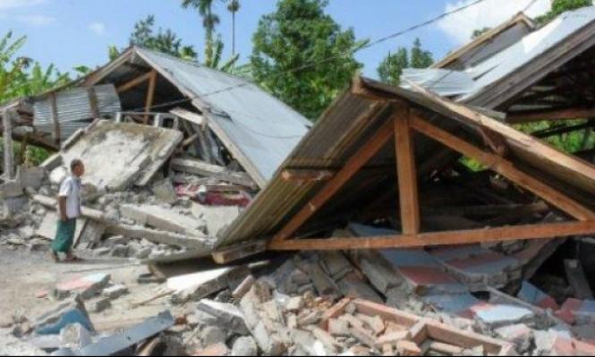 أندونيسيا: مئات العالقين على بركان نشط بعد زلزال مدمر
