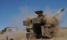 للمرة الأولى: إسرائيل تكشف عن قصف مدفعي واسع لسورية