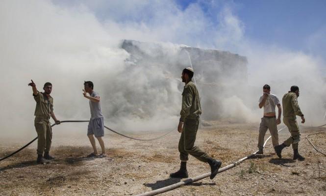 """""""غلاف قطاع غزة لا يزال مشتعلا"""""""