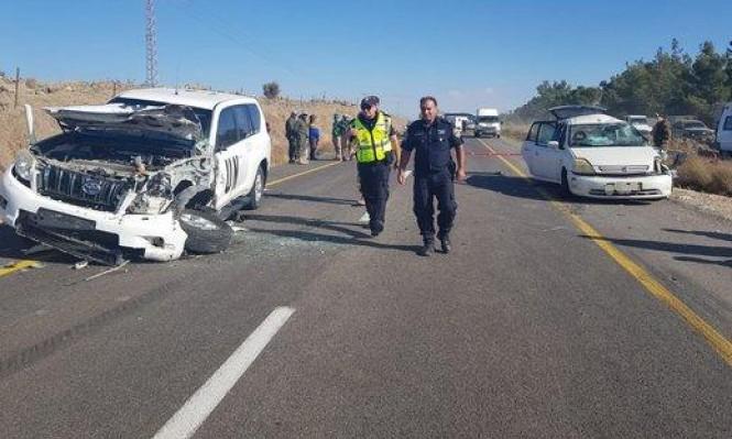 الجولان: إصابة خطيرة لطفلين بحادث سير