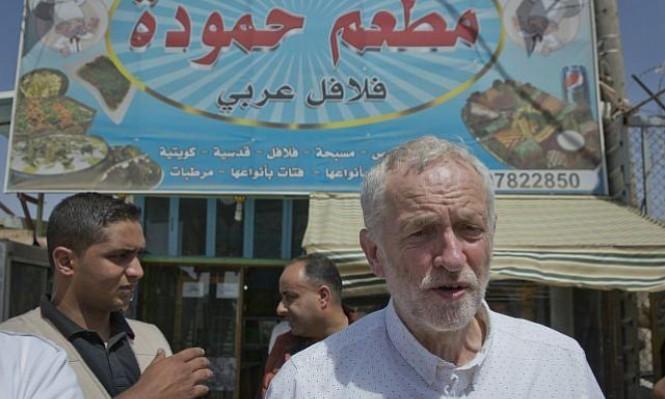 حملة واسعة ضد كوربن بسبب انتقاداته لإسرائيل