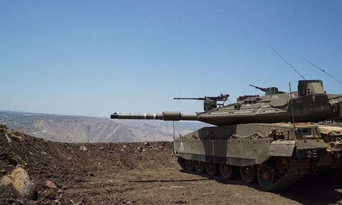 """إسرائيل تقصف """"داعش"""" بسورية"""