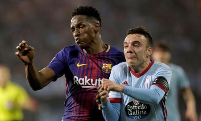 مدافع برشلونة وكولومبيا يفضل الانتقال إلى إيفرتون