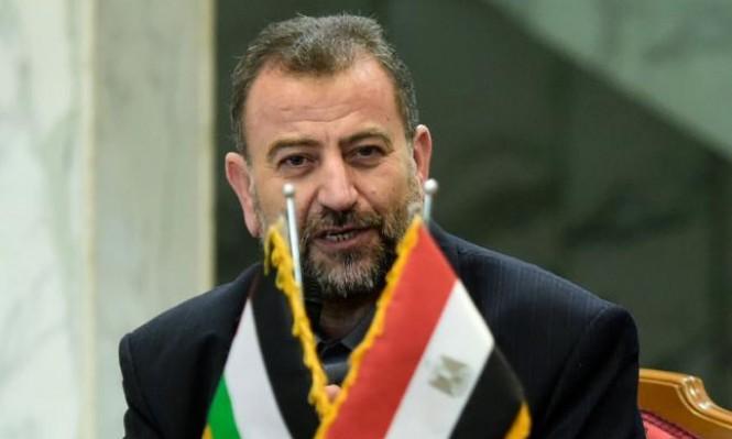 """وفد من قيادة """"حماس"""" بالخارج برئاسة العاروري يصل غزة"""