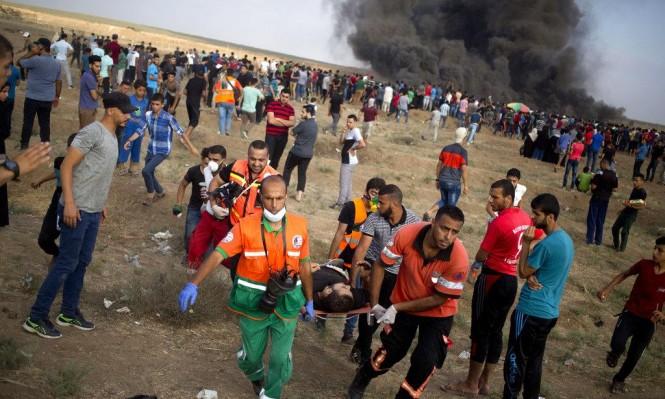 """غزة: استشهاد طفل في جمعة """"الوفاء لشهيد كوبر"""""""