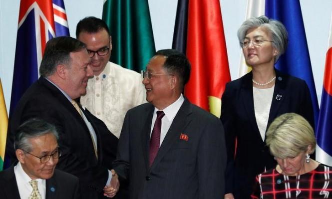 """الاتفاق النووي بين كوريا الشمالية وأميركا يهمين على """"آسيان"""""""