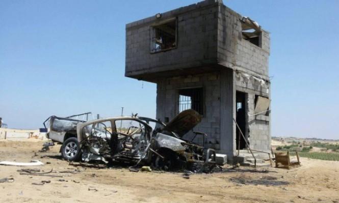 إصابات بقصف طائرة مسيرة لموقع للمقاومة بغزة