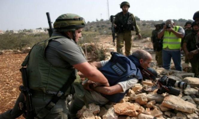 وزارة الإعلام الفلسطينية: 21 صحفيا معتقل لدى الاحتلال