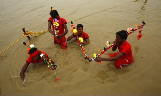 ارتفاع قتلى فيضانات بالهند لـ175
