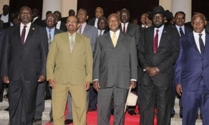 السودان: توقيع اتفاق اقتسام السلطة بين أطراف النزاع بالجنوب