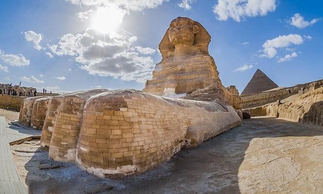 اكتشافُ تمثال جديد لأبو الهول في مصر
