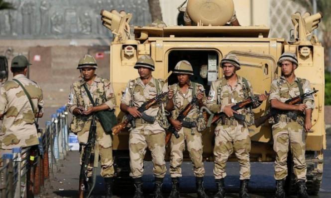 الجيش المصري يقتل 11 شخصًا بشمال سيناء